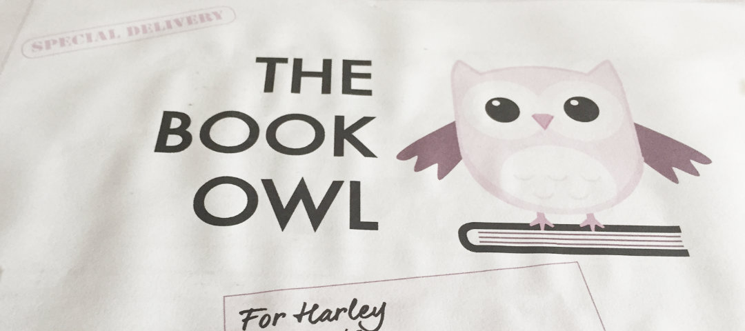 Book Owl delivery