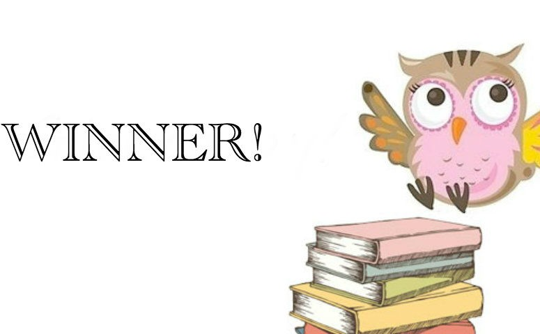 Book Owl giveaway winner