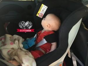 Harley car seat 9 months