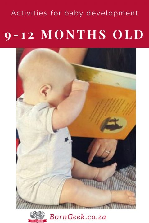 Activities for baby development - 9-12 months old