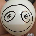 panda balloon in progress
