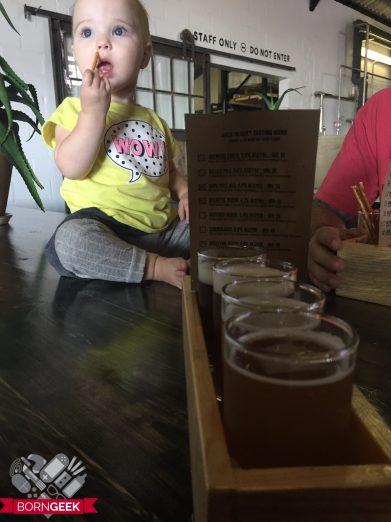 Harley Jack Black beer tasting