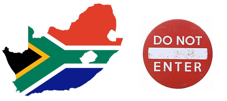 undesirable in South Africa