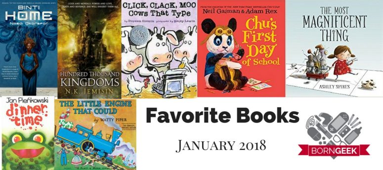 Favorite Books January 2018