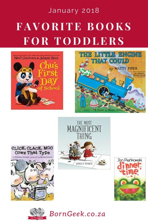 Favorite Toddler Books January 2018
