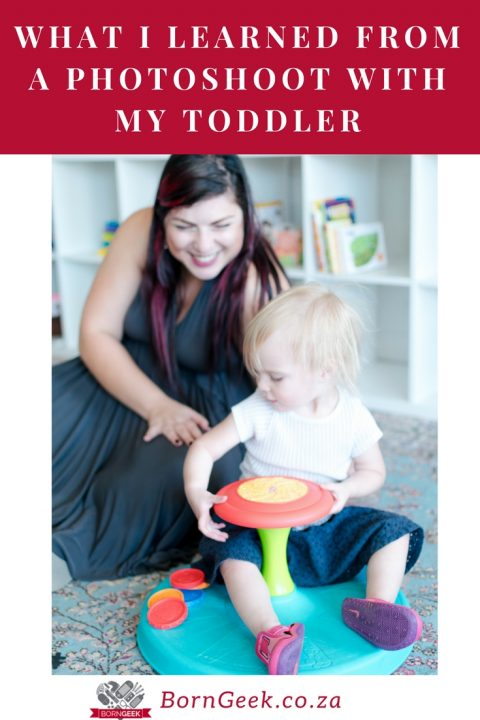 What I learned from a photoshoot with my toddler