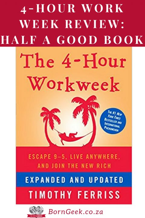 4-Hour Workweek Review - Half a Good Book