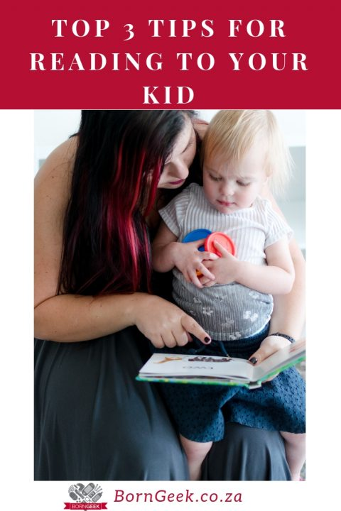 Top 3 Tips for Reading to Your Kid