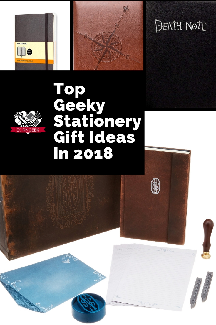Top Geeky Stationery Gift Ideas in 2018