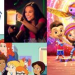 A Complete Guide to Netflix for Your Under-Six-Year-Old includes collage of Motown Magic and Emily's wonder lab